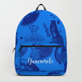 FASHION STYLE  BLUE Backpack