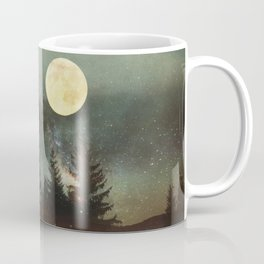 Midnight Fireflies Coffee Mug