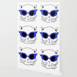 Cat Bat Sunglasses Wallpaper