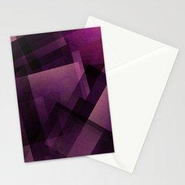 Modular Magenta - Digital Geometric Texture Stationery Cards