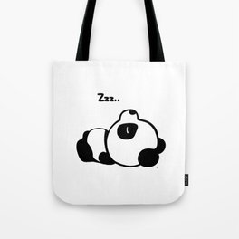 Sleeping Baby Panda Kawaii AWWW! Tote Bag