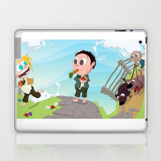 Run you Fool! Laptop & iPad Skin