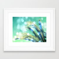 palm Framed Art Prints featuring palm by laika in cosmos