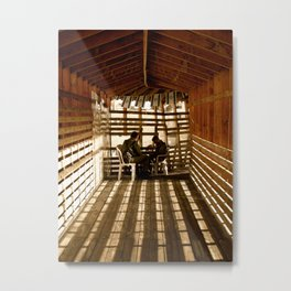 Western Wall Solitaire Metal Print