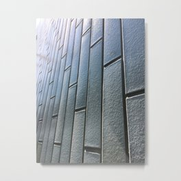 London Brick Wall Photography Metal Print