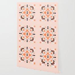 Flamingo Deco Wallpaper