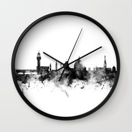 Florence Italy Skyline Wall Clock