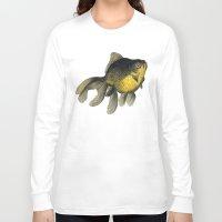 satan Long Sleeve T-shirts featuring YELLOW SATAN by LA CRISE