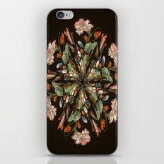 Flemish Floral Mandala 3 iPhone & iPod Skin