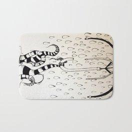 Tentacle Rainstorm Bath Mat