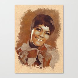 Dionne Warwick, Music Legend Canvas Print