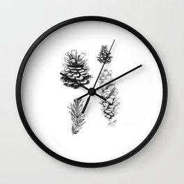 Needle & Pine Wall Clock