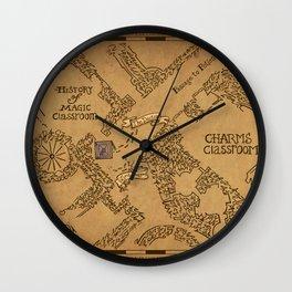 Evening Visit Wall Clock