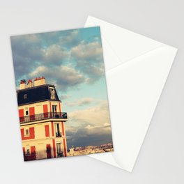 Shadow Of Sacre Coeur Stationery Cards