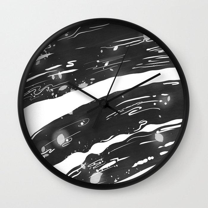 Ripples Wall Clock