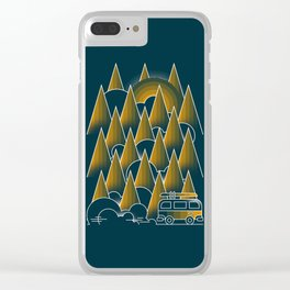 Montain van Clear iPhone Case