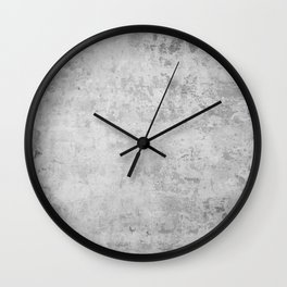 concrete wall vintage grey background,  wall texture * Wall Clock