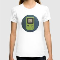 gameboy T-shirts featuring GameBoy by Beardy Graphics