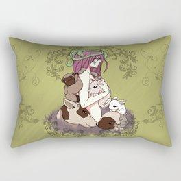 Animal Liberation Rectangular Pillow