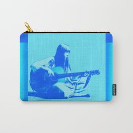 Blue Songbird Joni Mitchell Carry-All Pouch