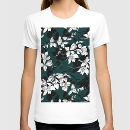 Flowers Pattern T-shirt