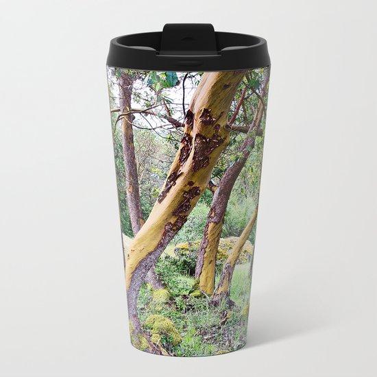 MAGIC MADRONA FOREST Metal Travel Mug