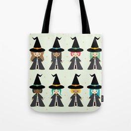 Cute Kawaii Witches Tote Bag
