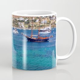 Mykonos, Greece Ocean Relaxing View Coffee Mug