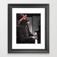 Troubled Man. Framed Art Print