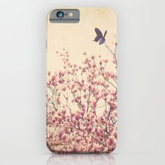 Butterfly and Pink Blossoms iPhone 6s Slim Case
