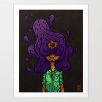 Hair #1 Art Print