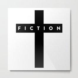 Fiction Cross Light Metal Print