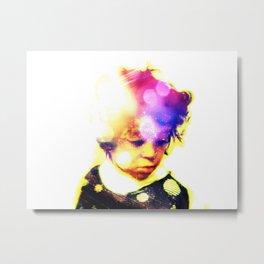 Child in Colors Metal Print