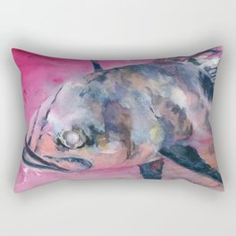 Pinkish Rectangular Pillow