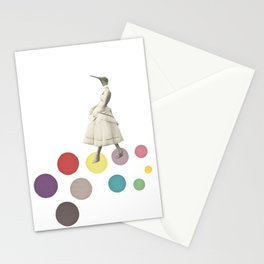 Bird Lady Stationery Cards
