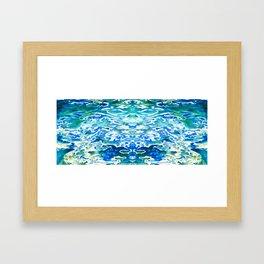 Ocean Mirrors Framed Art Print