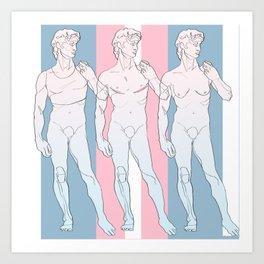 Trans David Art Print