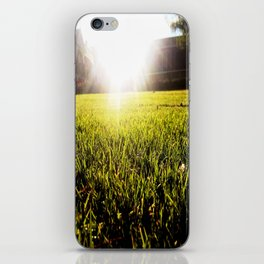 and the grass is always greener.. iPhone Skin