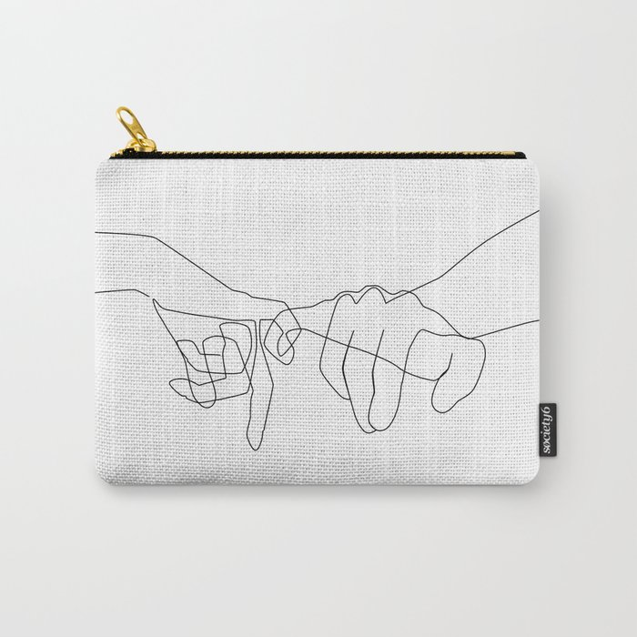 Pinky Swear Carry-All Pouch