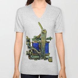 Machine seven Unisex V-Neck
