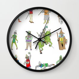 Knights of the Living Dead Wall Clock