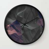 Irregular Marble Wall Clock