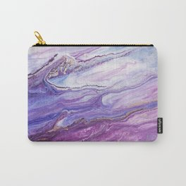 Fluid Expressions - Purple Tide Carry-All Pouch