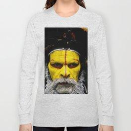 Papua New Guinea: Huli Wigman Long Sleeve T-shirt