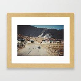 Asia 13 Framed Art Print