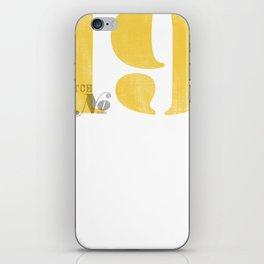 Batch No. 19 iPhone Skin