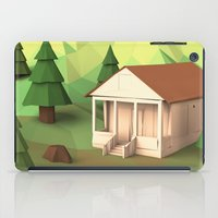cabin iPad Cases featuring Cabin by CharismArt
