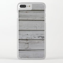 Peeled Paint Clear iPhone Case