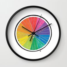 Color Wheel (Society6 Edition) Wall Clock