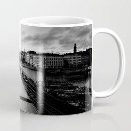 Trains in Stockholm Sweden Coffee Mug